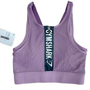 GYMSHARK Elevate Sports Bra Purple Wash Small NWT